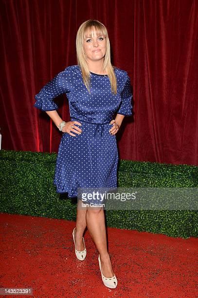 Actress Jo Joyner attends The 2012 British Soap Awards at ITV Studios on April 28 2012 in London England