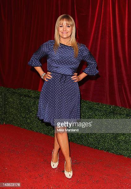 Actress Jo Joyner attends the British Soap Awards at The London Television Centre on April 28 2012 in London England