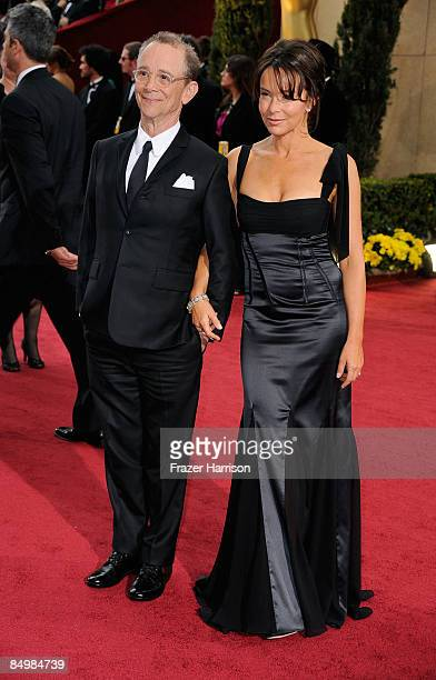 Actress Jo Wilder and actor Joel Grey arrive at the 81st Annual Academy Awards held at Kodak Theatre on February 22, 2009 in Los Angeles, California.