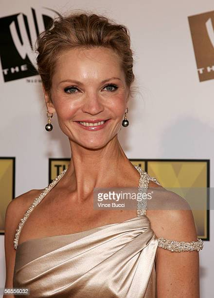 Actress Joan Allen arrives at the 11th Annual Critics' Choice Awards held at the Santa Monica Civic Auditorium on January 9, 2006 in Santa Monica,...