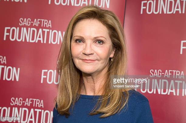 Actress Joan Allen attends SAGAFTRA Foundation Conversations with Joan Allen for The Family at SAGAFTRA Foundation on April 18 2016 in Los Angeles...