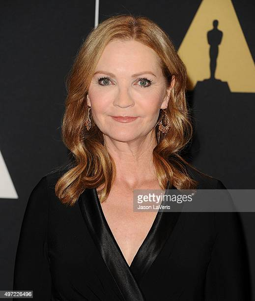 Actress Joan Allen attends the 7th annual Governors Awards at The Ray Dolby Ballroom at Hollywood Highland Center on November 14 2015 in Hollywood...