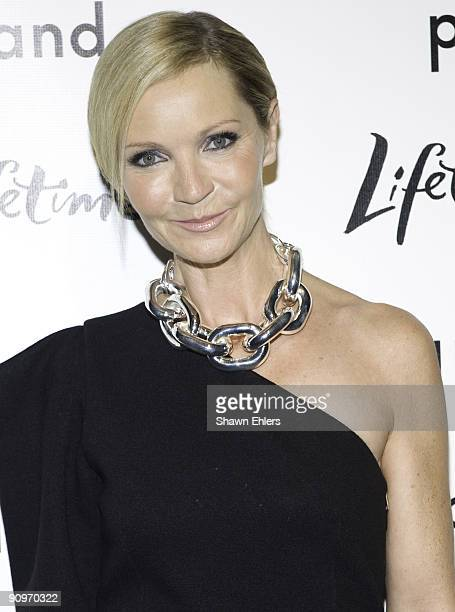 Actress Joan Allen attends the Georgia O'Keeffe: Abstraction exhibition opening>> at The Whitney Museum of American Art on September 16, 2009 in New...