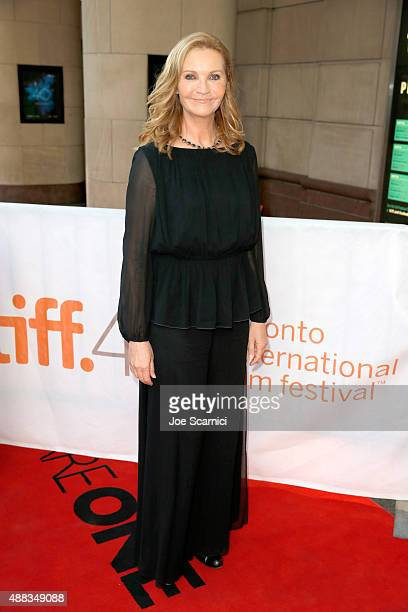 Actress Joan Allen attends the Room premiere during the 2015 Toronto International Film Festival at the Princess of Wales Theatre on September 15...