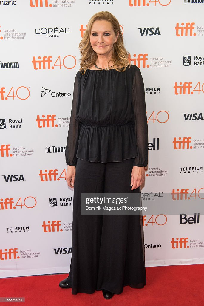 Actress Joan Allen attends the 'Room' premiere during the 2015 Toronto International Film Festival at the Princess of Wales Theatre on September 15, 2015 in Toronto, Canada.
