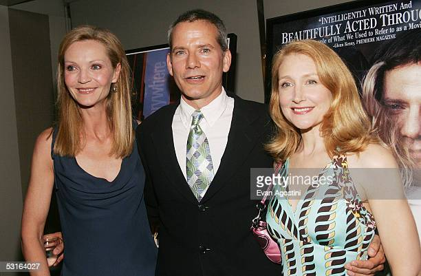 Actress Joan Allen honoree Campbell Scott and actress Patricia Clarkson attend the 5th Annual 'Young Friends Of Film Honors' tribute to Campbell...