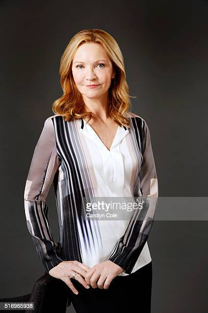 Actress Joan Allen is photographed for Los Angeles Times on March 2 2016 in New York United States PUBLISHED IMAGE CREDIT MUST READ Carolyn Cole/Los...