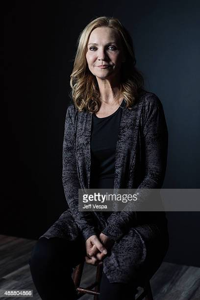 Actress Joan Allen of Room poses for a portrait at the 2015 Toronto Film Festival at the TIFF Bell Lightbox on September 15 2015 in Toronto Ontario