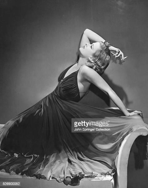 Actress Joan Bennett