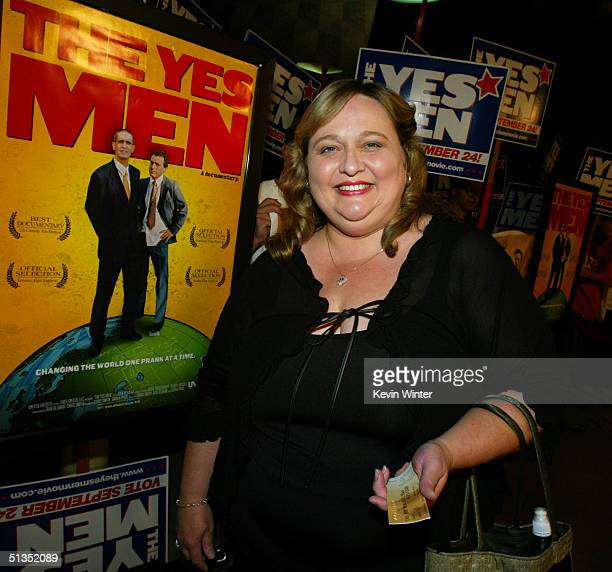 Actress Joan Blair arrives to the premiere of United Artists' film The Yes Men on the opening night of the Silver Lake Film Festival at the ArcLight...