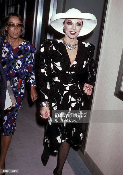 Actress Joan Collins and daughter Katyana Kass attend the Young Musicians Foundation's Fifth Annual Celebrity Mother/Daughter Fashion Show on March...