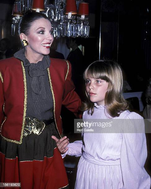 Actress Joan Collins and daughter Katyana Kass attend the Young Musicians Foundation's First Annual Celebrity Mother/Daughter Fashion Show on March...