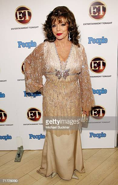 Actress Joan Collins arrives at the 10th Annual Entertainment Tonight Emmy Party sponsored by People Magazine held at the Mondrian on August 27, 2006...