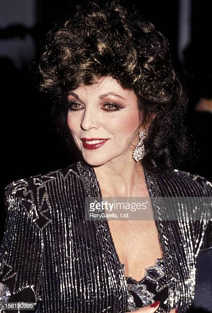 All The Girls Standing In The Line For The Bathroom: Joan Collins Pictures And Photos