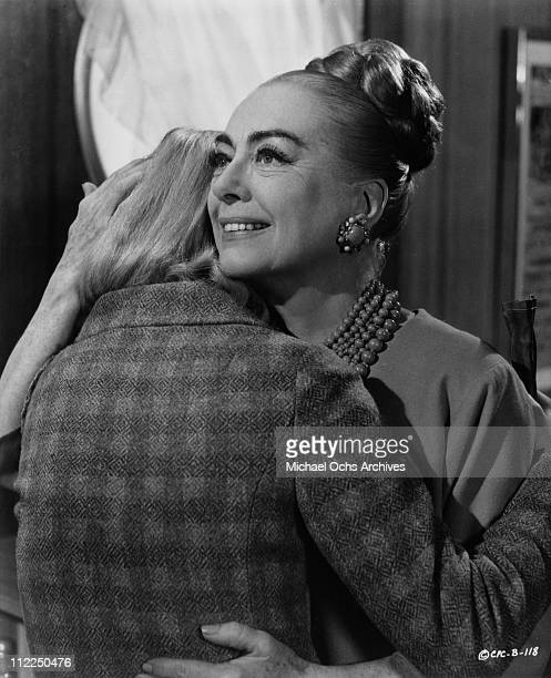 Actress Joan Crawford in a scene from the movie 'Berserk' in 1967 in England
