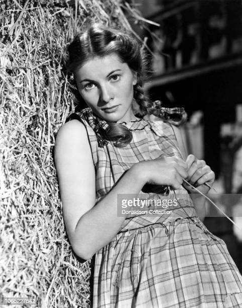 Actress Joan Fontaine in a scene from the movie The Constant Nymph
