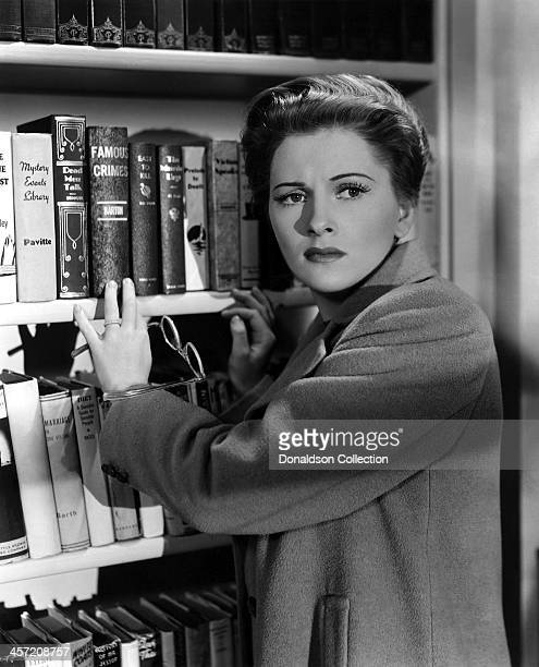 Actress Joan Fontaine poses for a portrait for the movie 'Suspicion' released in 1941