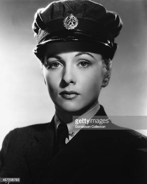 Actress Joan Fontaine poses for a portrait for the movie 'This Above All' released in 1942 Photo by /Getty Images