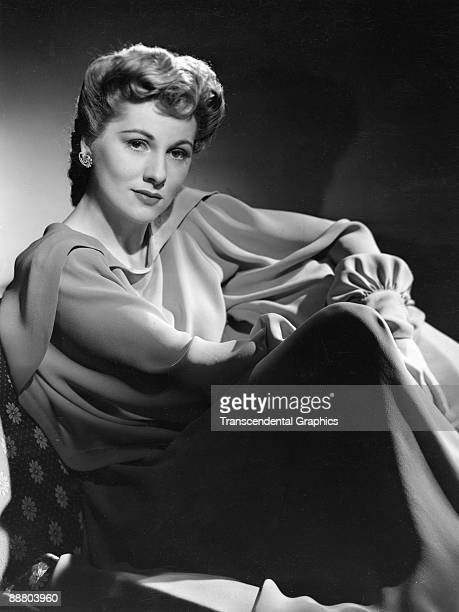 Actress Joan Fontaine poses for a studio publicity photo in Hollywood around 1940