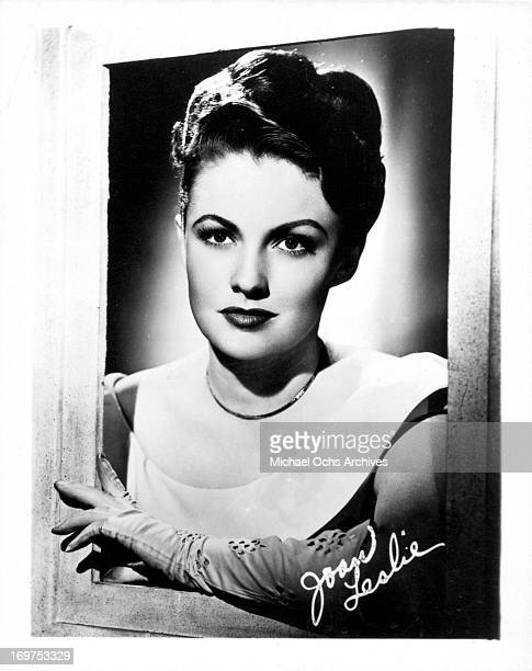 Actress Joan Leslie poses for a portrait in circa 1945
