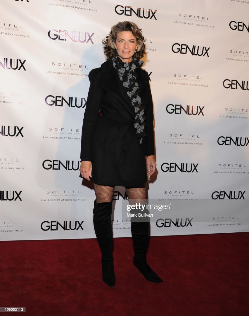 Actress Joan Severance arrives for the opening of Riviera 31 At Sofitel Los Angeles on January 15, 2013 in Los Angeles, California.
