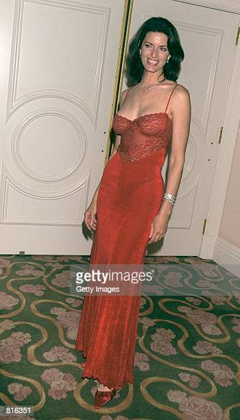 Actress Joan Severance attends the 10th Annual Night of 100 Stars Gala Oscar party March 25 2001 at the Beverly Hills Hotel in Beverly Hills CA