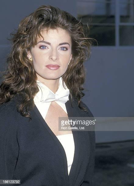 Actress Joan Severance attends the 14th Annual People's Choice Awards on March 13 1988 at 20th Century Fox Studios in Century City California