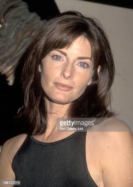 Actress Joan Severance attends the 1997 Video Software Dealers Association Convention on July 10 1997 at Las Vegas Convention Center in Las Vegas...