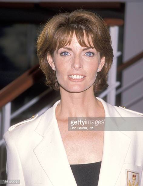 Actress Joan Severance attends 'The Love Boat' Reunion Celebration and the Launch of UPN's New Series 'The Love Boat The Next Wave' on September 1...