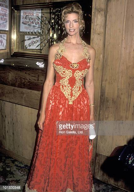 Actress Joan Severance attends the Ninth Annual Rita Hayworth Gala Honoring Edgar Bronfman Jr on November 11 1993 at the Tavern on the Green in New...