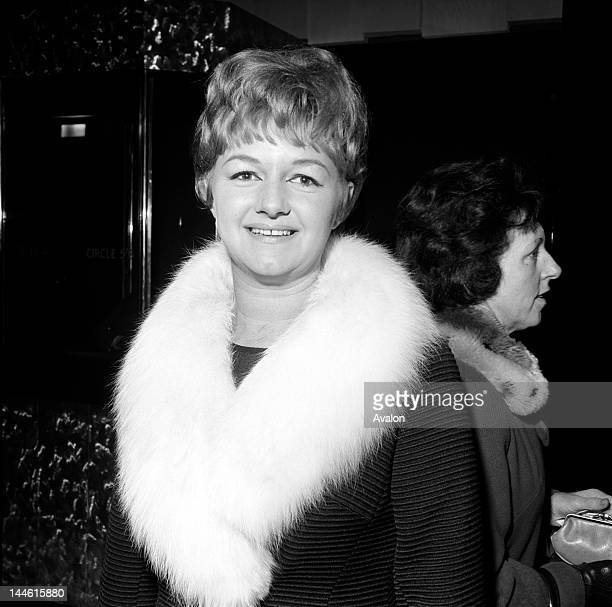 Actress Joan Sims photographed in March 1966