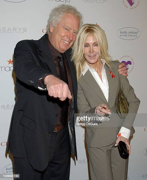 Actress Joan Van Ark and husband John Marshall arrive at AR Gurney's Love Letters starring Dame Elizabeth Taylor and James Earl Jones at Paramount...