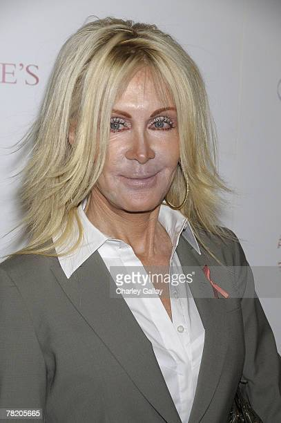 Actress Joan Van Ark arrives at a reading of A R Gurney's 'Love Letters' performed by Dame Elizabeth Taylor and James Earl Jones at Paramount Studios...