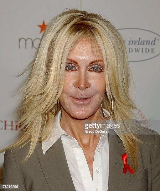 Actress Joan Van Ark arrives at AR Gurney's Love Letters starring Dame Elizabeth Taylor and James Earl Jones at Paramount Studios on December 1 2007...