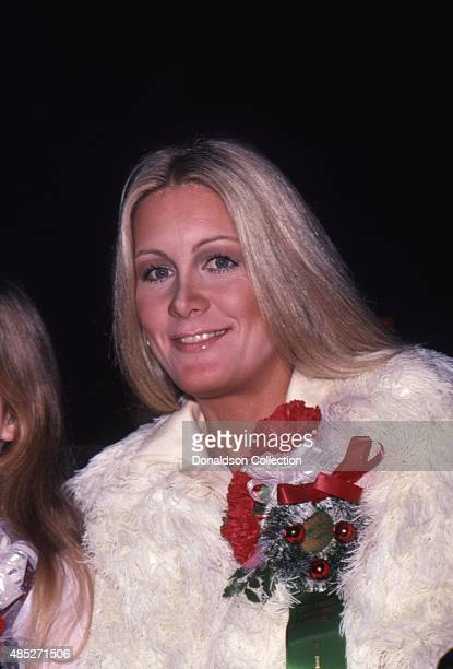 Actress Joan Van Ark from Knots Landing attends the Hollywood Christmas Parade an event in December 1980 in Los Angeles California