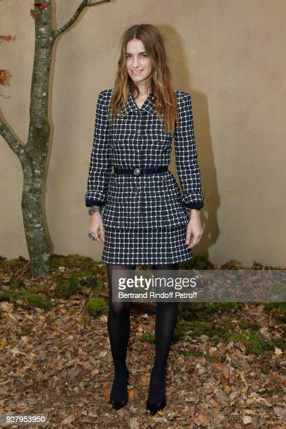 Actress Joana Preiss attends the Chanel show as part of the Paris Fashion Week Womenswear Fall/Winter 2018/2019 on March 6 2018 in Paris France