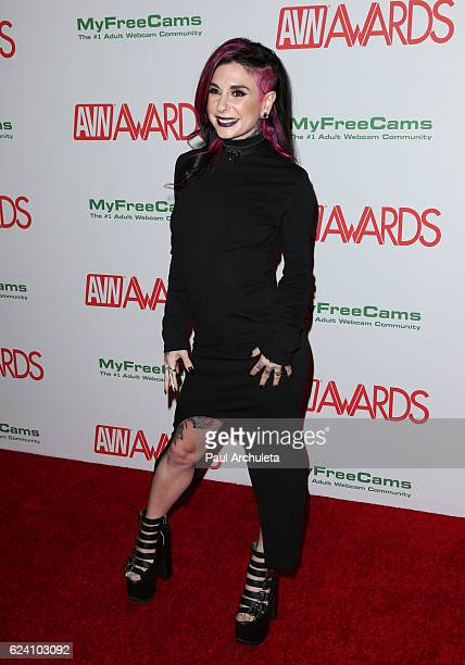 Actress Joanna Angel attends the 2017 AVN Awards nomination party at Avalon on November 17 2016 in Hollywood California