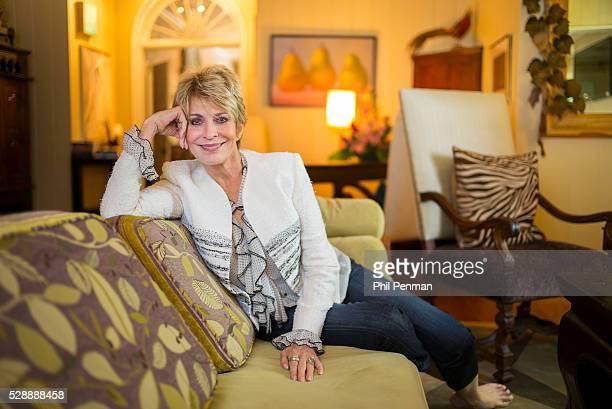 Actress Joanna Cassidy at home in Louisiana LA