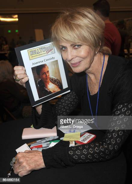 Actress Joanna Cassidy at The Hollywood Show held at Westin LAX Hotel on October 21 2017 in Los Angeles California