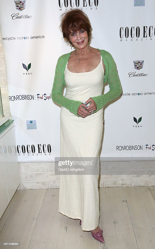 Actress Joanna Cassidy attends Coco Eco Magazine's launch of it's Earth Rocks! debut print issue at Roy Robinson at Fred Segal on June 25, 2014 in Los Angeles, California.