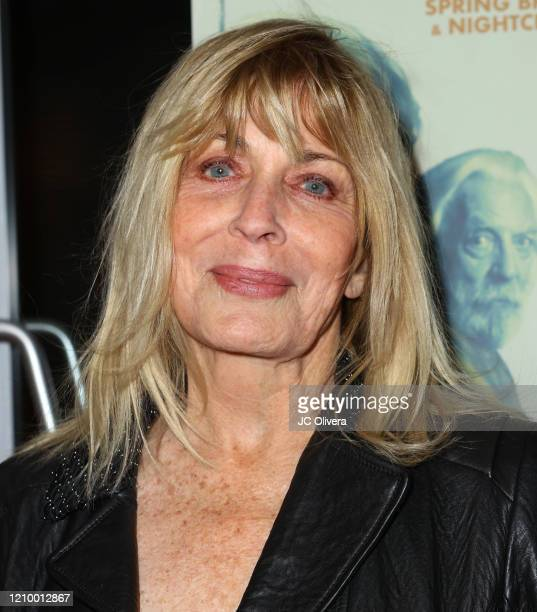 """Actress Joanna Cassidy attends the LA special screening of Sony's """"The Burnt Orange Heresy"""" at Linwood Dunn Theater on March 02, 2020 in Los Angeles,..."""