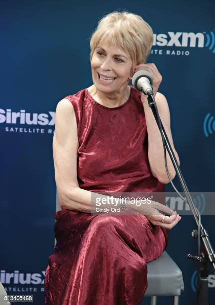Actress Joanna Cassidy participates in SiriusXM's Town Hall with Bravo's Odd Mom Out cast hosted by creator and star Jill Kargman on July 12 2017 in...