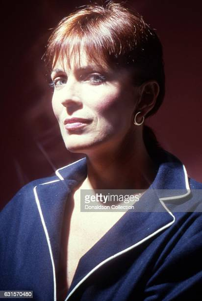 Actress Joanna Cassidy poses for a portrait session in circa 1992 in Los Angeles California