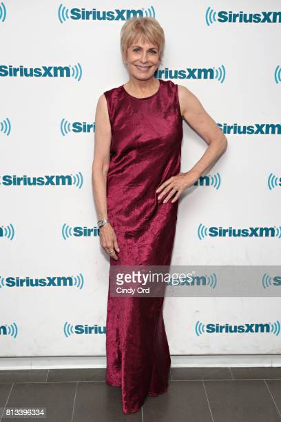 Actress Joanna Cassidy visits the SiriusXM Studio on July 12 2017 in New York City