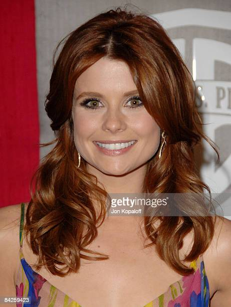 Actress Joanna Garcia arrives at the 66th Annual Golden Globe Awards InStyle Warner Bros Official After Party at the Oasis Court at The Beverly...