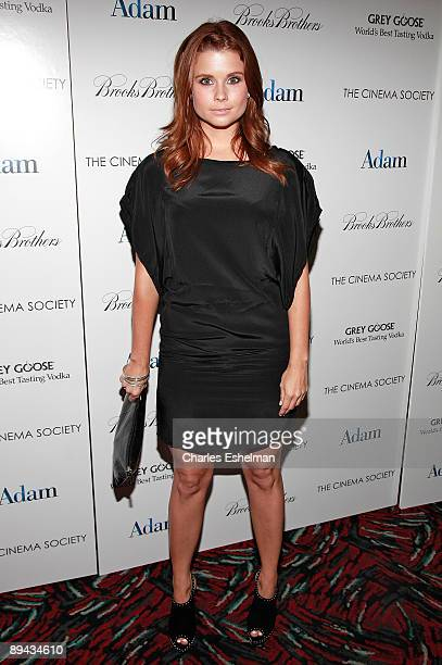 "Actress JoAnna Garcia attends a screening of ""Adam"" hosted by the Cinema Society and Brooks Brothers at the AMC Loews 19th Street on July 28, 2009 in..."
