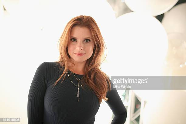 Actress JoAnna Garcia attends smartwater sparkling celebrates Jennifer Aniston and St Jude's Children's Hospital at W Hollywood on February 23 2016...
