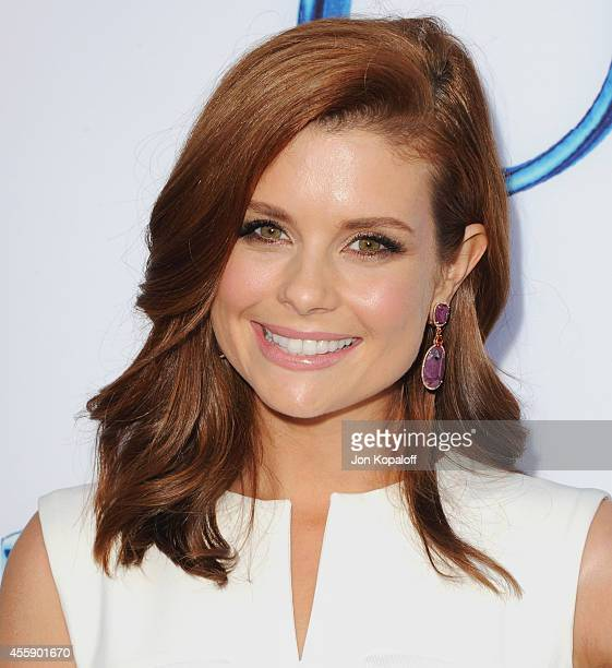 Actress JoAnna Garcia Swisher arrives at ABC's Once Upon A Time Season 4 Red Carpet Premiere at the El Capitan Theatre on September 21 2014 in...