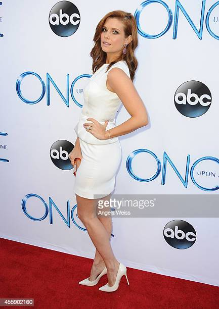 """Actress JoAnna Garcia Swisher attends ABC's """"Once Upon A Time"""" Season 4 red carpet premiere at the El Capitan Theatre on September 21, 2014 in..."""