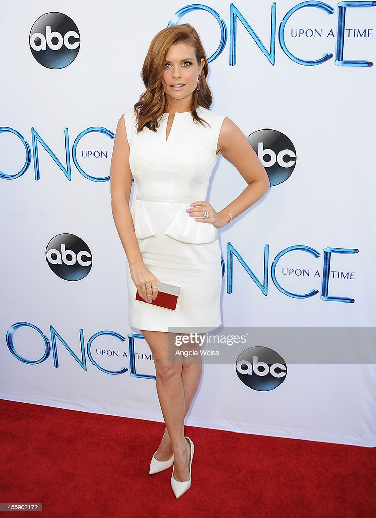 """ABC's """"Once Upon A Time"""" Season 4 Red Carpet Premiere : News Photo"""